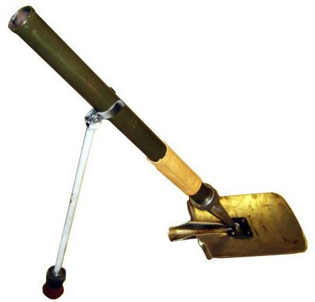 миномет лопата
