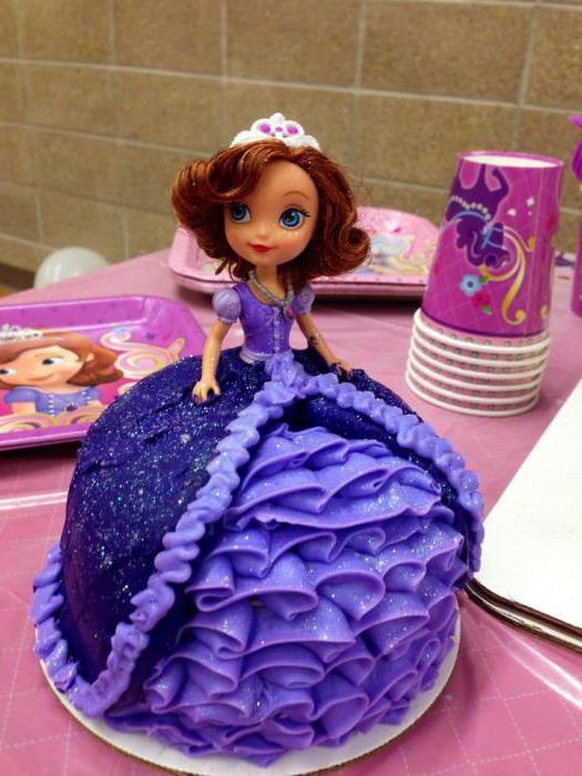 принцесса софия торт
