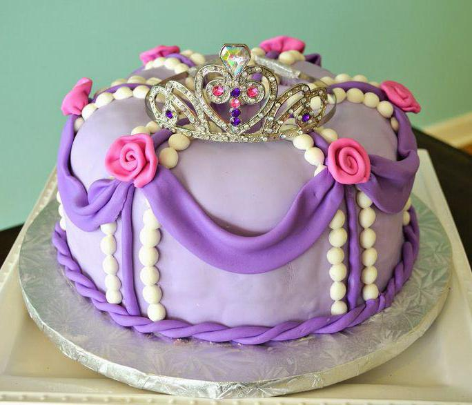 принцесса софия торт фото