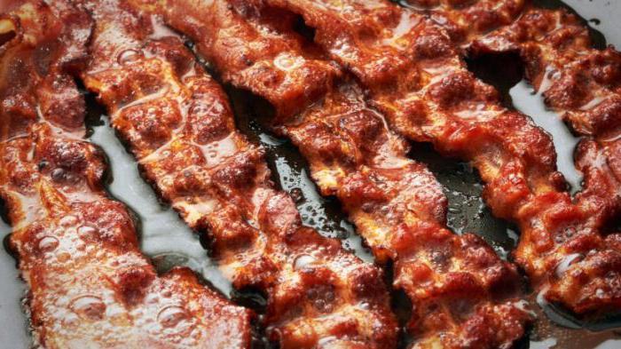 Бекон жареный: правила приготовления, применение в кулинарии, рецепты