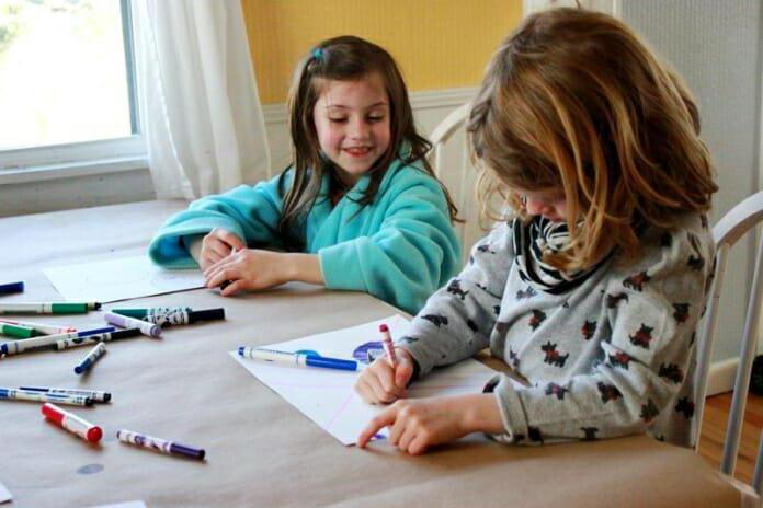 How to draw Chipollino together with children