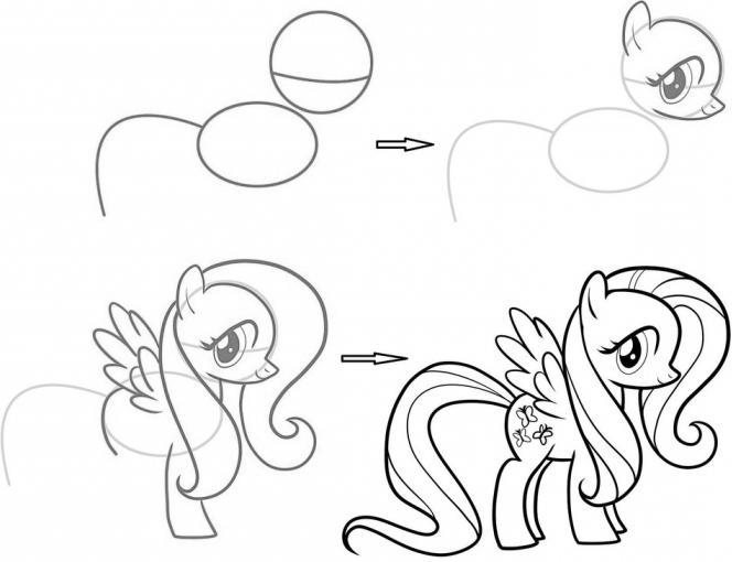 Как Нарисовать Мод Пай Из Май Литл Пони