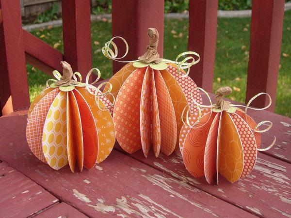 декор осенними листьями