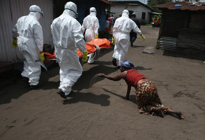 эбола заражение