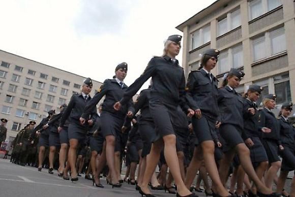 Работа в полиции для женщин возможно