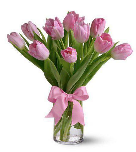 сколько стоит букет тюльпанов