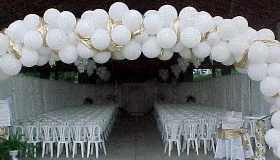 Красивое свадебное оформление зала своими руками