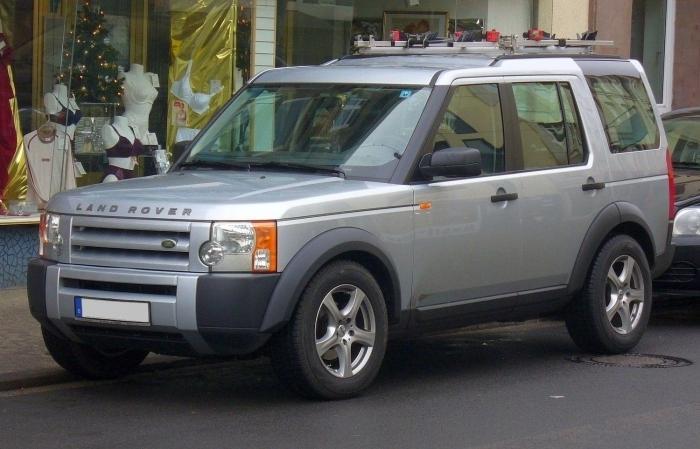 Land rover discovery интерьер