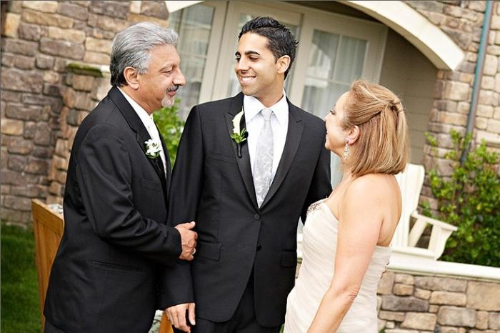 Благословить сына перед свадьбой
