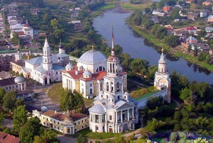 Торжок: достопримечательности российского зодчества