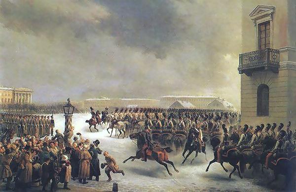 Движение декабристов сыграло огромную роль в выступлениях русского.