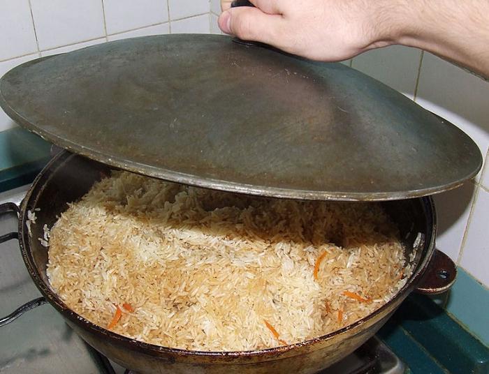 Плов в казане рецепт узбекского блюда