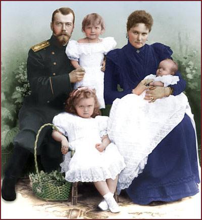 имя последнего русского царя