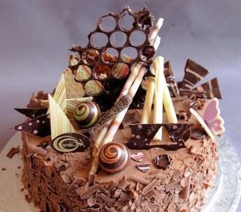 Украшать торты в домашних условиях