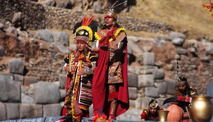 индеец проживающий на территории перу
