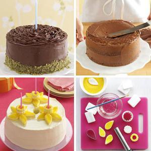 Украшаем торт в домашних условиях с