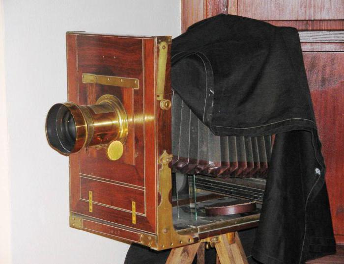 Старинные фотоаппараты — краткий экскурс в историю