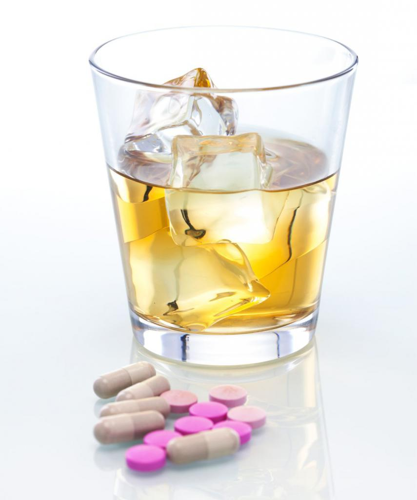 анаприлин после алкоголя