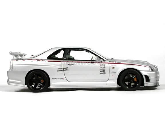 Nissan Skyline R34 GT - автомобиль для уличных гонок