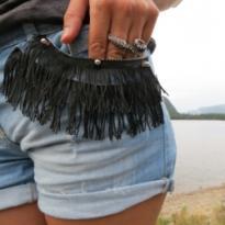 Как сделать бахрому на джинсовых шортах самостоятельно?