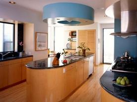 Современные интерьеры кухни