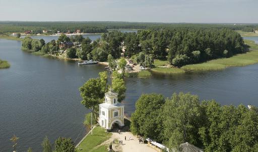 Россия озеро Селигер
