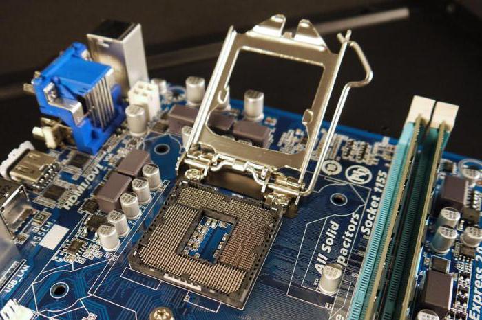 Сокеты для процессоров интел