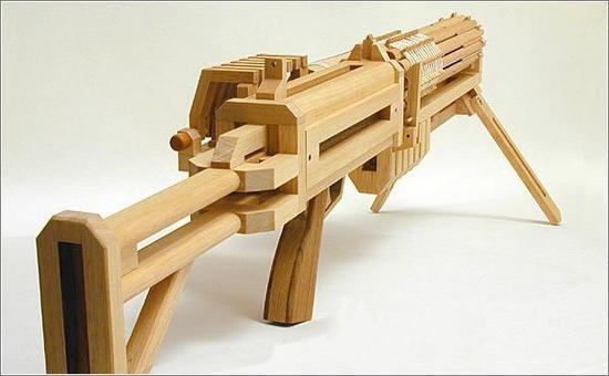Деревянный макет ак 47 своими руками