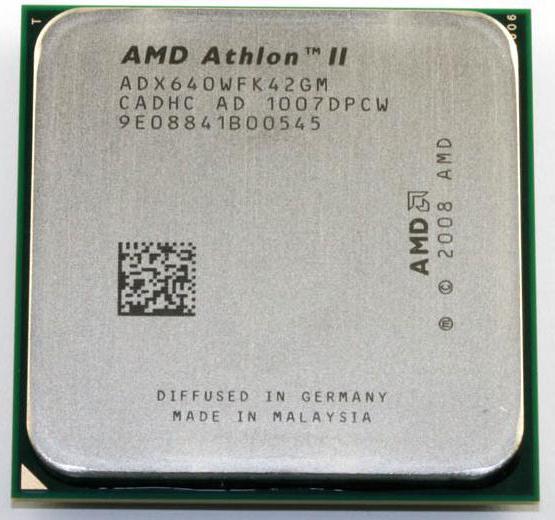 Процесор AMD Athlon II X4640: характеристики та відгуки