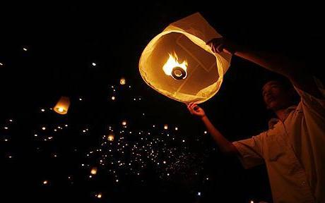 Как сделать китайские фонарики своими руками?