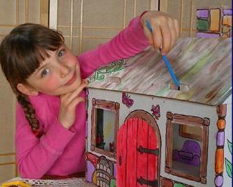 Для кукол дочке своими руками