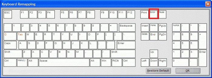 Как отключить scroll lock на клавиатуре