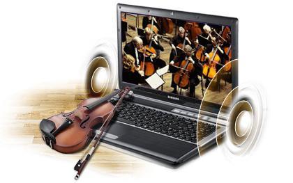 установить звук на ноутбуке