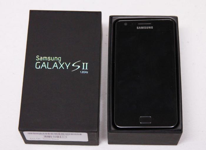 Samsung Galaxy S2: характеристика модели, отзывы, описание ...