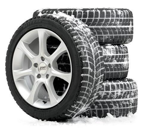 Шины-липучки - что это? Зимние шины: шипы или липучка?