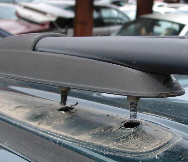 Багажник на крышу 2111 своими руками