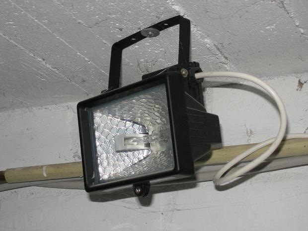 прожектор галогеновый 500 вт