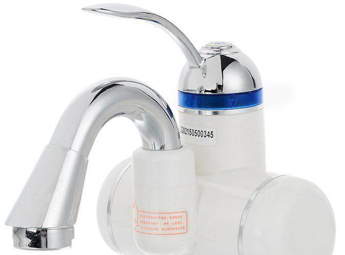Кран водонагреватель проточный