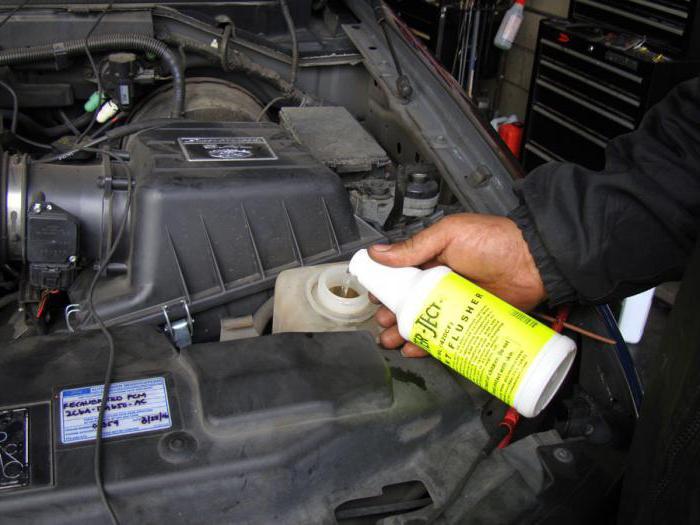 промывка системы охлаждения двигателя кока колой