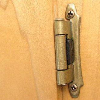 Виды петель для дверей