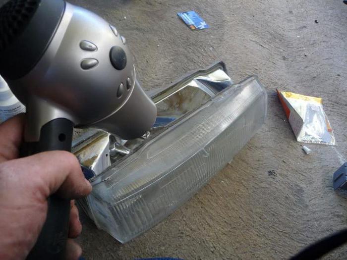 Восстановление отражателя фар своими руками: инструкция, описание и отзывы