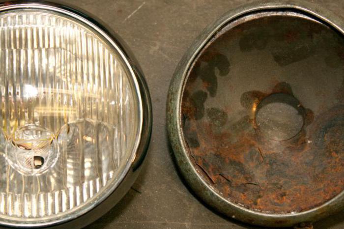 восстановление зеркального покрытия отражателя фары