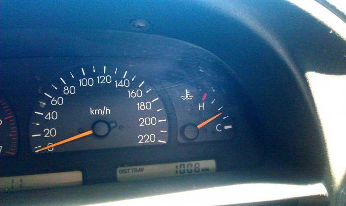 1187529 - Температура двигателя падает во время движения