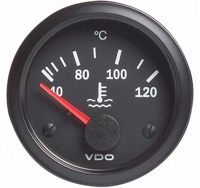 1187535 - Температура двигателя падает во время движения
