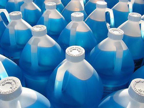 стеклоомывающая жидкость состав