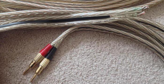 акустический кабель для колонок сечение