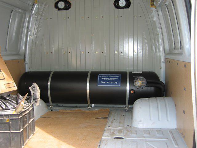 газовое оборудование автомобиля газель