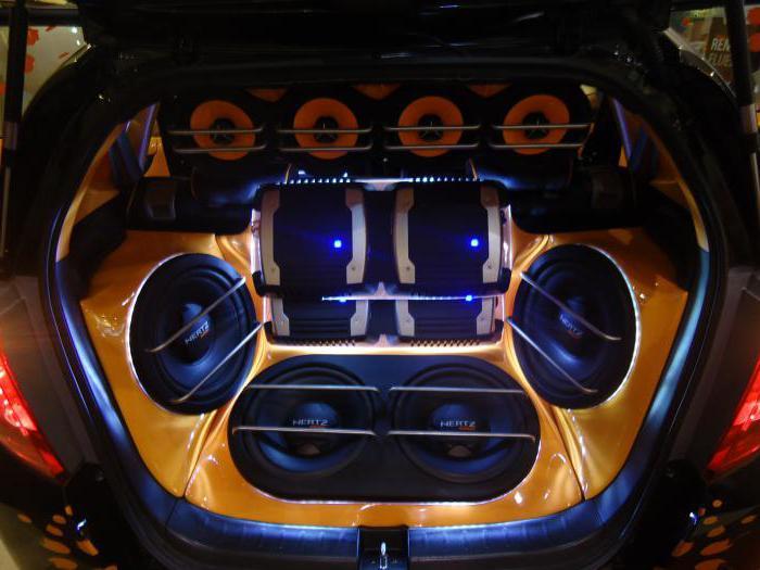 Супер бас в машине видео
