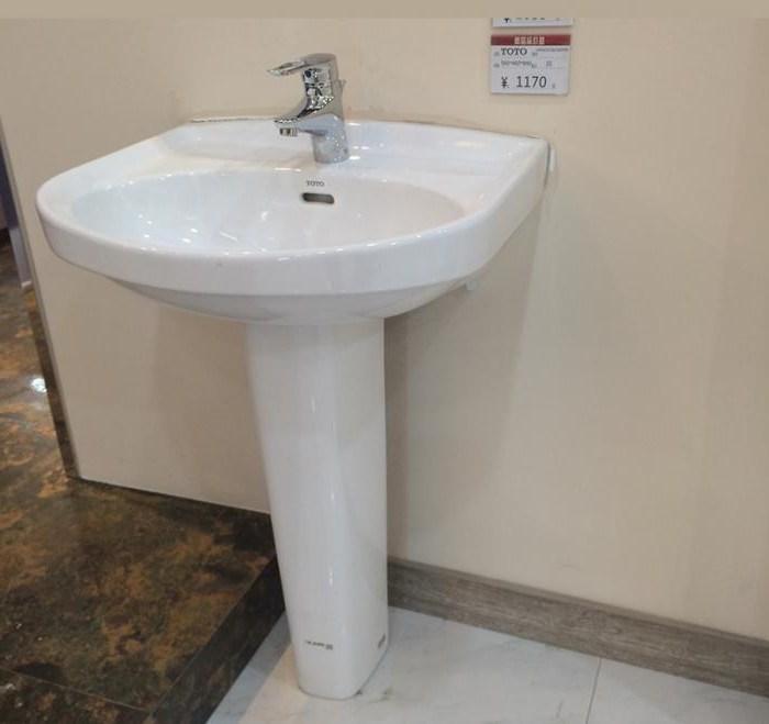 раковины с пьедесталом для ванной комнаты