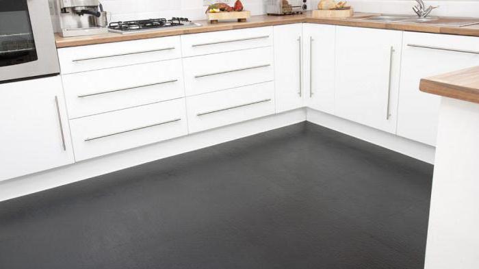 полы на кухне современные наливные